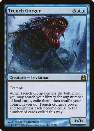 Trench Gorger [Commander 2011] | Vault TCG Singles