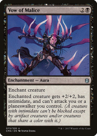 Vow of Malice [Commander Anthology] | Vault TCG Singles