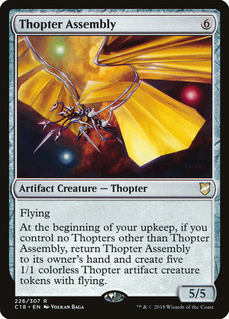 Thopter Assembly [Commander 2018] | Vault TCG Singles