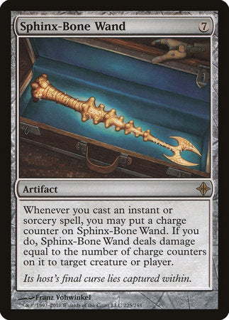 Sphinx-Bone Wand [Rise of the Eldrazi] | Vault TCG Singles