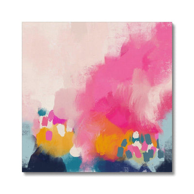 Keep Blooming Canvas - Urvashi Art Studio