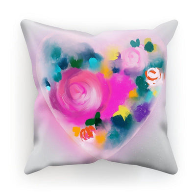 You make my heart glow Cushion - Urvashi Art Studio