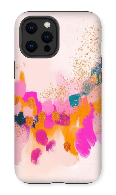 Golden Glow Phone Case - Urvashi Art Studio