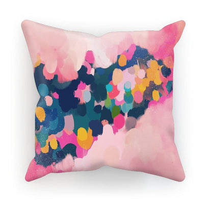 Velvety Roses Cushion - Urvashi Art Studio