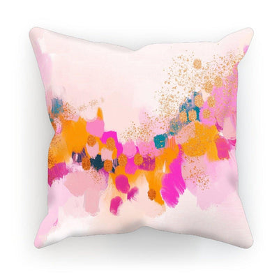 Golden Glow Cushion - Urvashi Art Studio