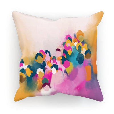 Colourful People Cushion - Urvashi Art Studio