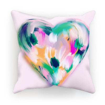 Mad Love Heart Cushion - Urvashi Art Studio