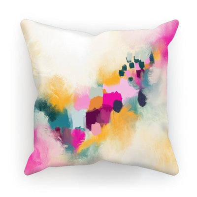 Pink Sunrise Cushion - Urvashi Art Studio