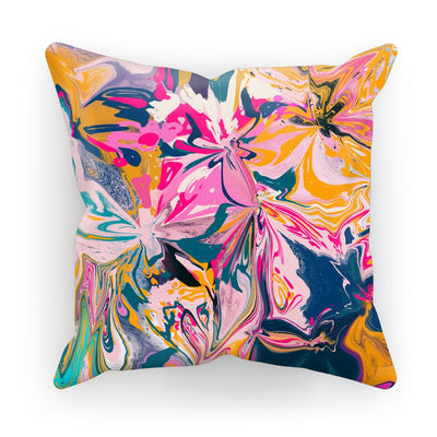Florales  Cushion - Urvashi Art Studio