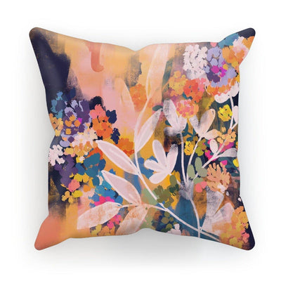 Floromance  Cushion - Urvashi Art Studio