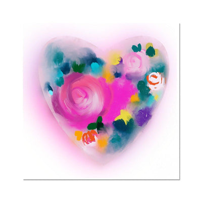 You make my heart glow Hahnemühle Photo Rag Print - Urvashi Art Studio