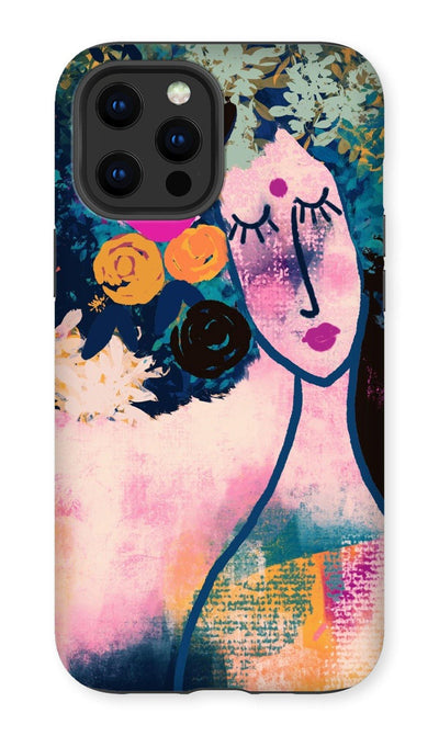 Wearing my crown  Phone Case - Urvashi Art Studio
