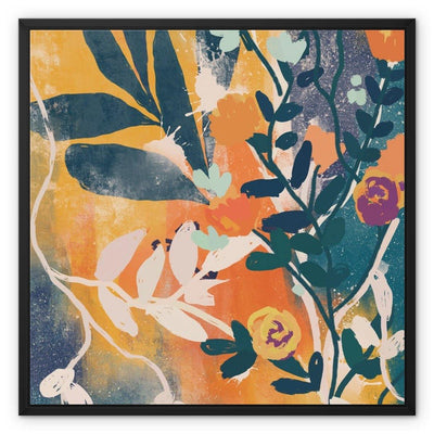 Sunrise in wild Framed Canvas - Urvashi Art Studio