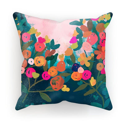 Floral Garden Cushion - Urvashi Art Studio