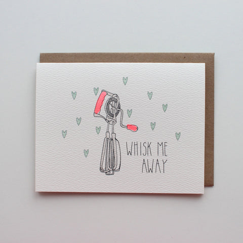 Whisk Me Away card