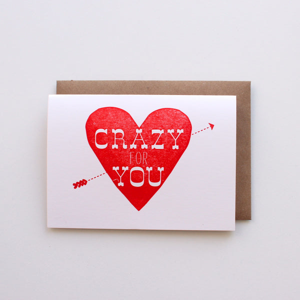 Crazy For You card