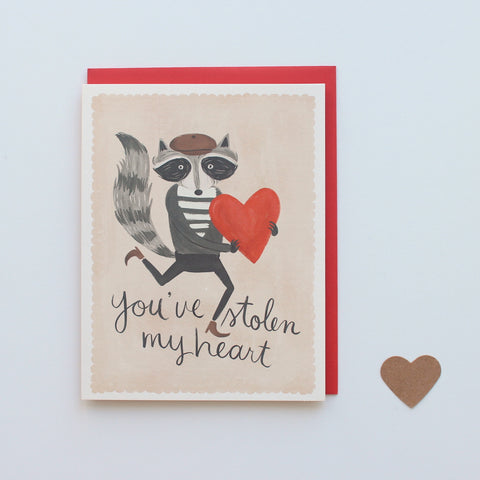 You've Stolen My Heart card