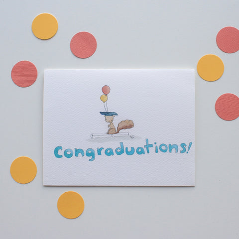 Congraduations card