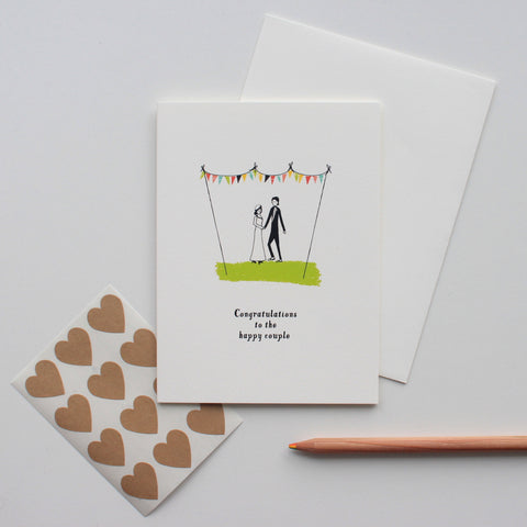 Kiss Under the Banner card