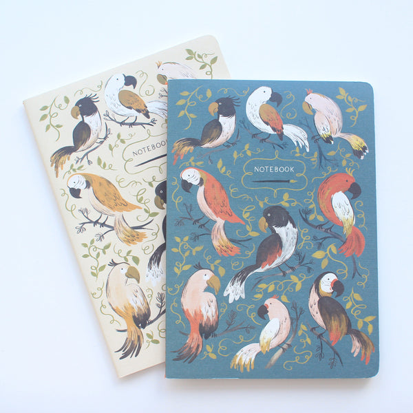Set of Parrot Journals