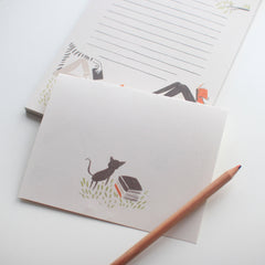 Park Book Club notepad