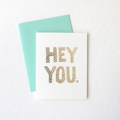 Hey You card