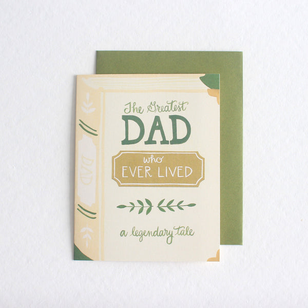 Greatest Dad Who Ever Lived card