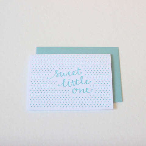 Sweet Little Boy card