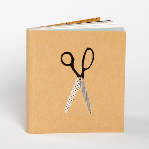 Craft Scissors Sketchbook