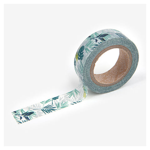 Tropical Plants Washi Tape