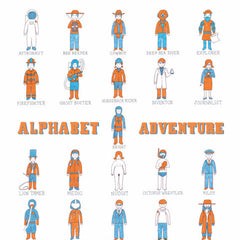 Alphabet Adventure Art Print