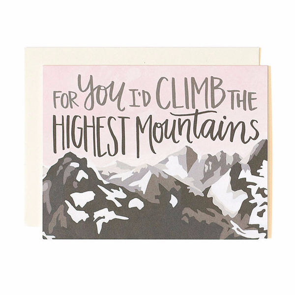 Climb Highest Mountains card