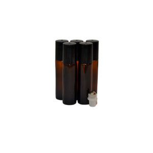 Buy Bulk and SAVE - Amber 10ml Roller 10 Pack