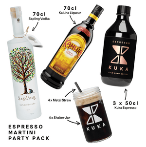 Espresso martini party pack