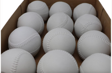 Load image into Gallery viewer, A- 122 baseball balls for throwing machine, size 9'', white, 12 pieces