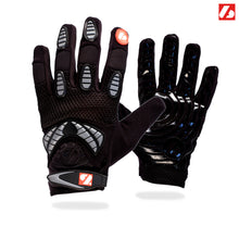 Load image into Gallery viewer, FRG-02 New generation receiver football gloves, black