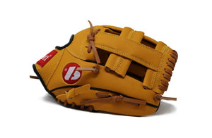 "JL-105-baseball glove, outfiled, REG size 10.5"" brown"