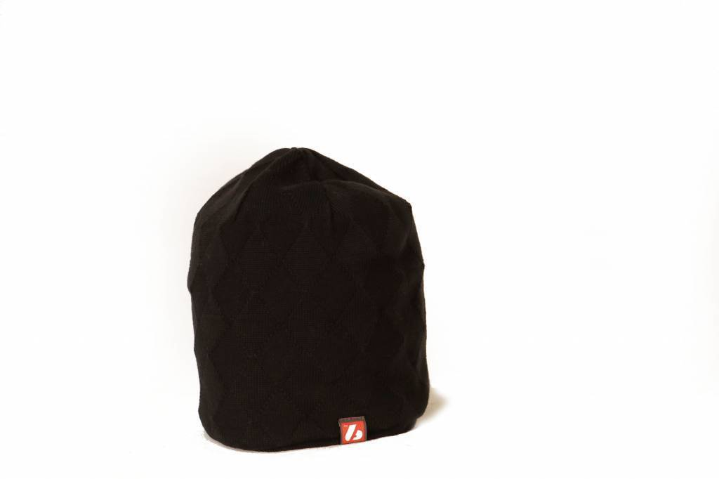 ANTON Winter Head Cap Black