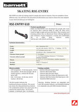 Load image into Gallery viewer, RSE-ENTRY 610 Roller Ski Beginner GREY