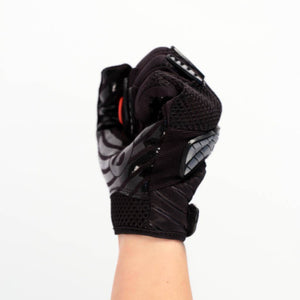 FRG-02 New generation receiver football gloves, black