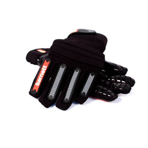 FKG-02 fit football gloves for linebackers, LB, RB, TE black