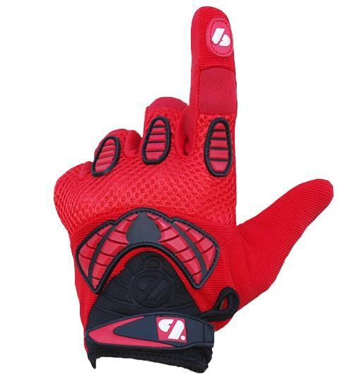 FRG-02 New generation receiver football gloves, red