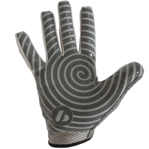 FRG-02 New generation receiver football gloves, RE,DB,RB, grey