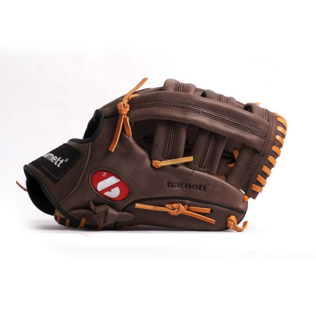 GL-130 Competition baseball glove, genuine leather, outfield 13, Brown