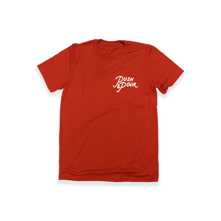 Push Logo Tee (Brick)