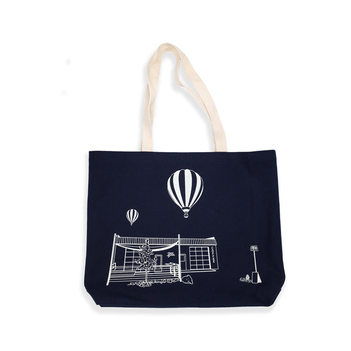 Push & Pour Garden City Tote (Navy Blue)