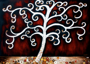 The Giving Tree Original 36x48