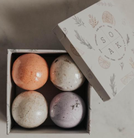 SOAK Bath Bomb Mini Gift Set