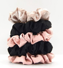 Load image into Gallery viewer, Satin Sleep Scrunchie Set