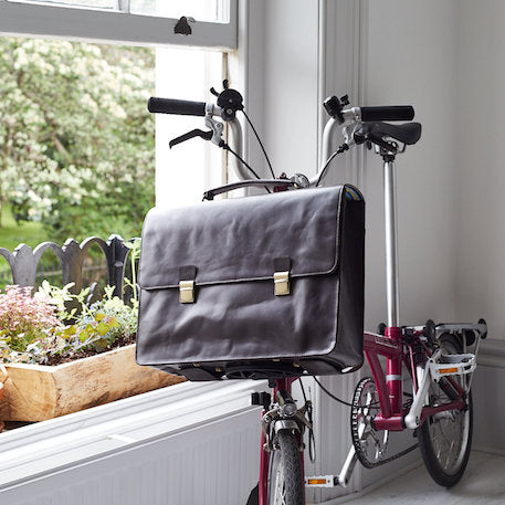 Classic Leather Brompton Compatible